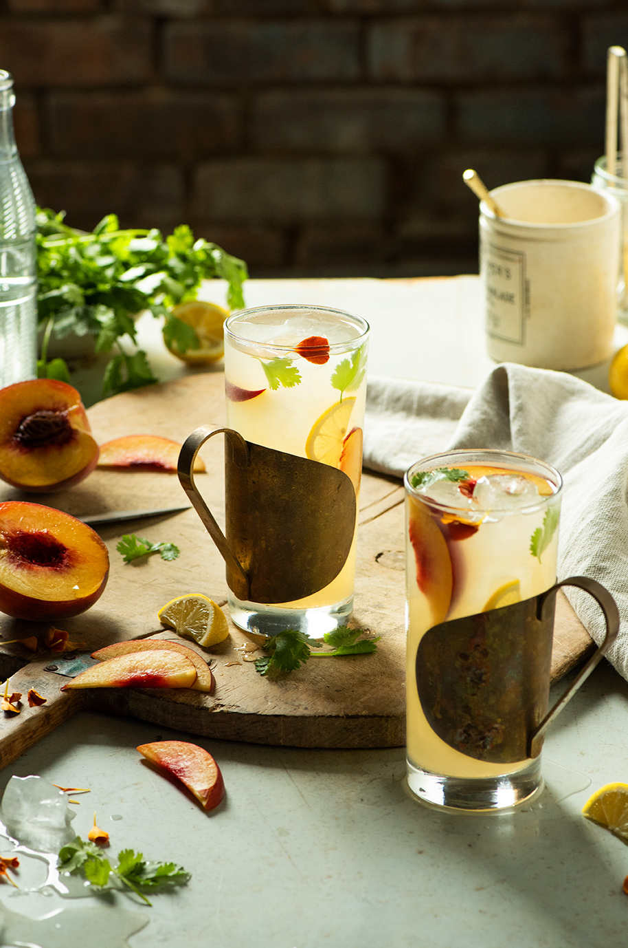 Garden-Inspired Drinks
